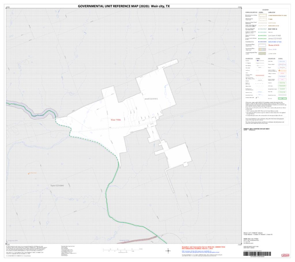 City Limits Map